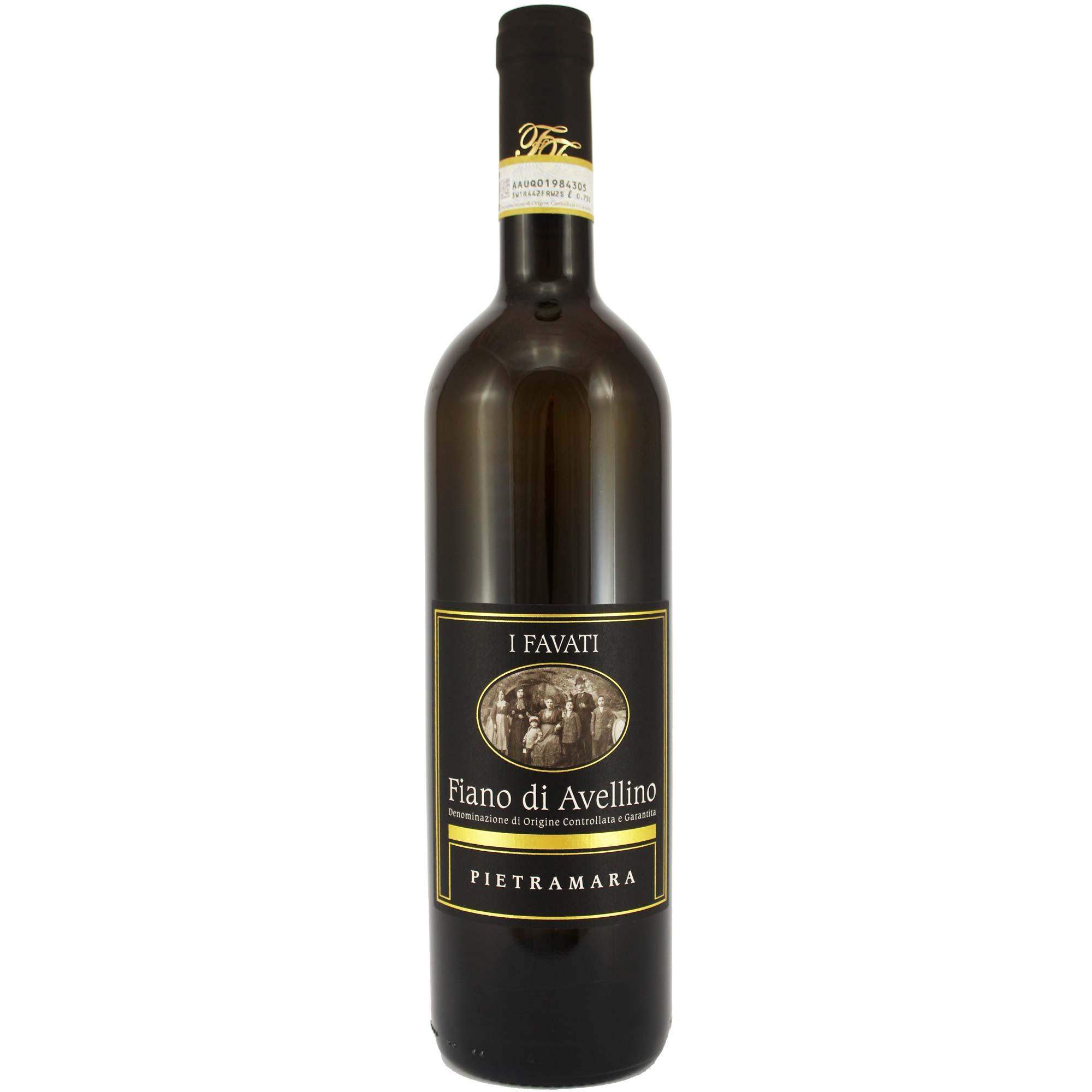 Vino bianco Fiano di Avellino Pietramara