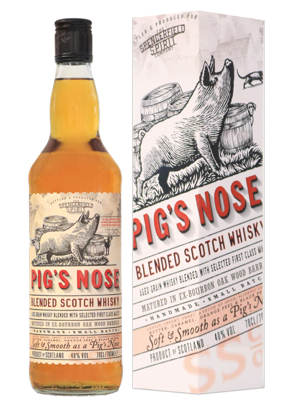 Distillato Whisky Pig's Nose Blended Scotch Ian MacLeod