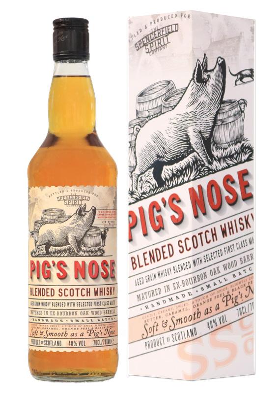 Distillato Whisky Pig's Nose Blended Scotch Ian MacLeod