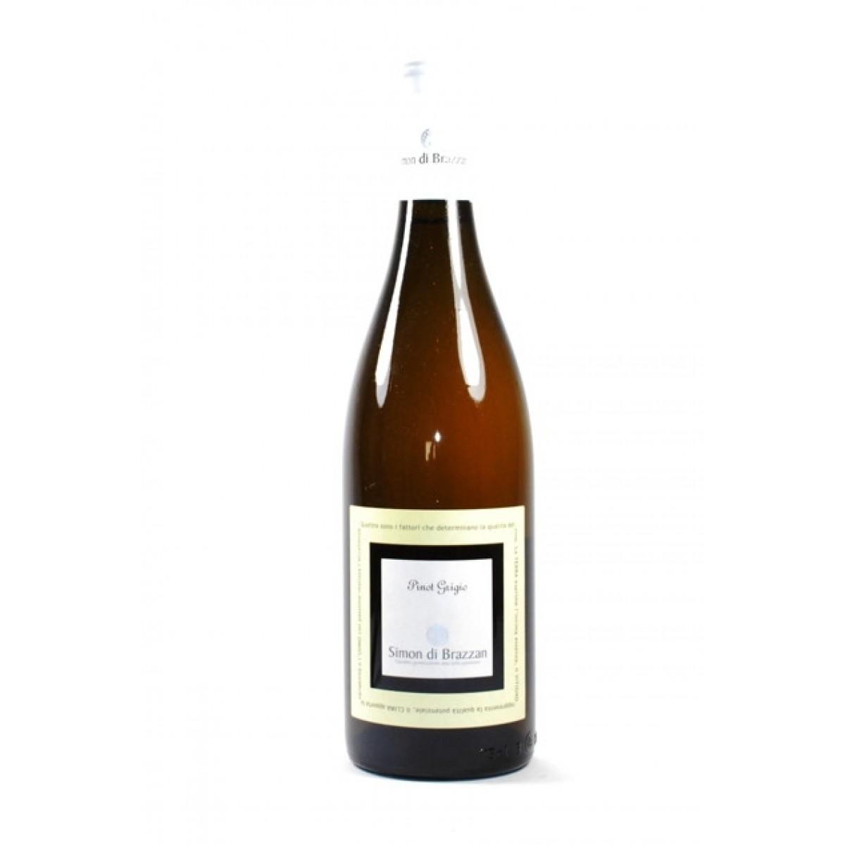 Vino bianco Pinot Grigio Metodo Tradizionale