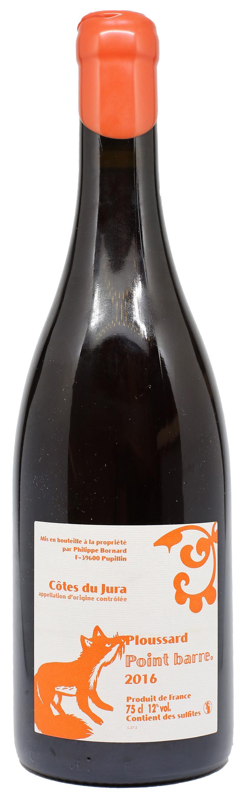 Vino rosso Point Barre