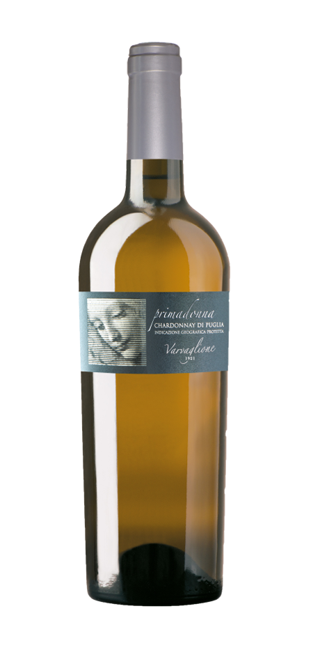 Vino bianco Chardonnay di Puglia Primadonna