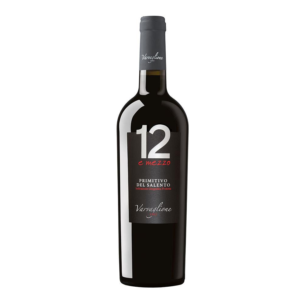 Vino rosso Primitivo del Salento 12 e Mezzo