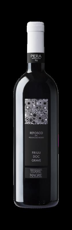 Vino rosso Refosco dal Peduncolo Rosso Friuli Grave
