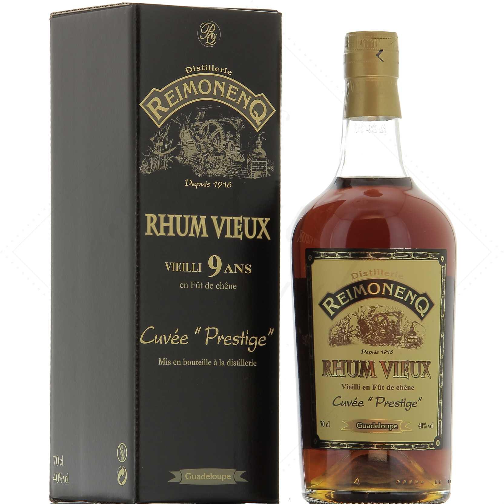 Distillato Rhum Agricole Vieux 9 Ans Cuveè Prestige Reimonenq