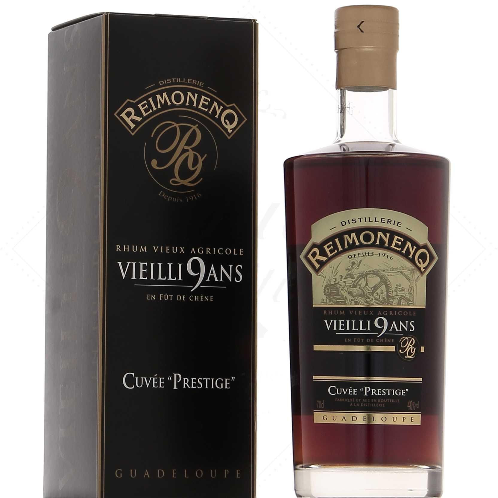 Distillato Rhum Agricole Vieilli 9 Ans Cuveè Prestige Reimonenq