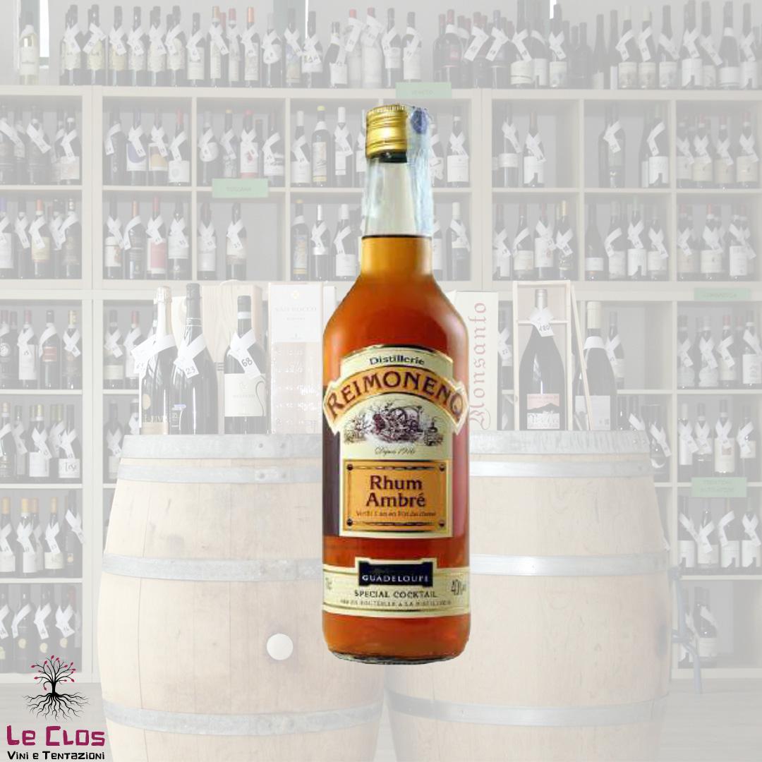 Distillato Rhum Agricole Ambrè 1 An Special Cocktail Reimonenq