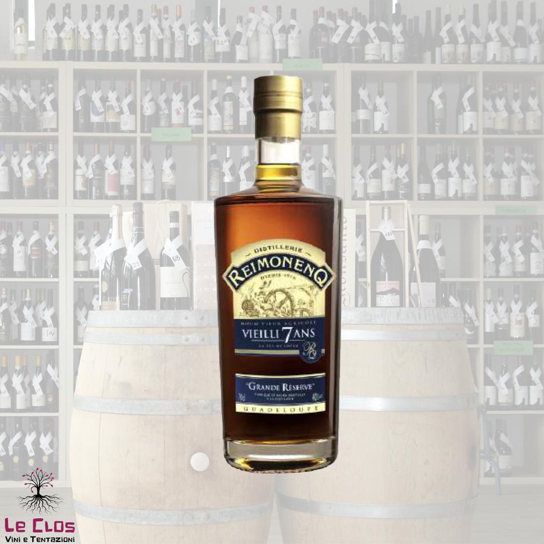 Distillato Rhum Agricole Vieilli 7 Ans
