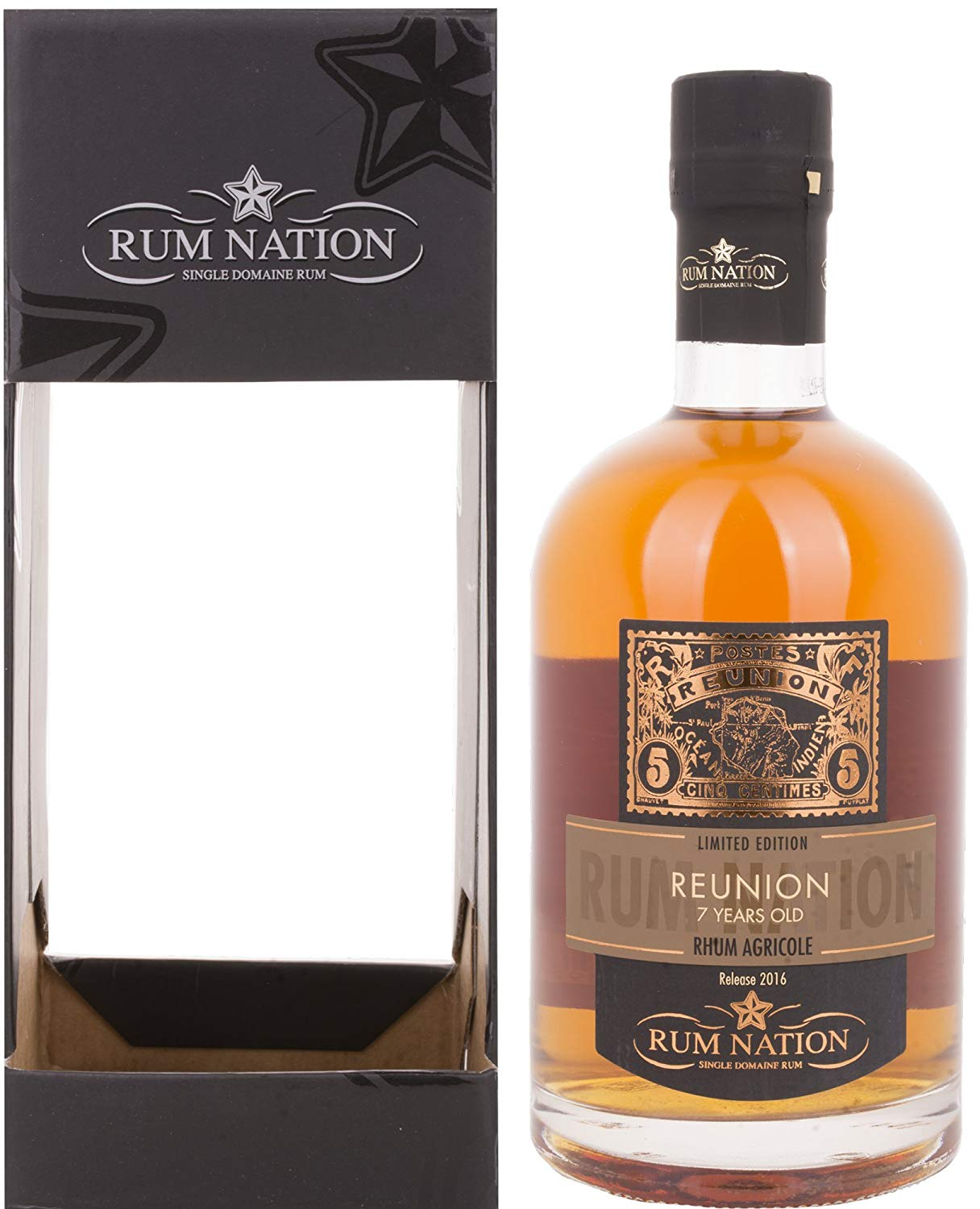 Confezione regalo Reunion 7yo Rum Nation