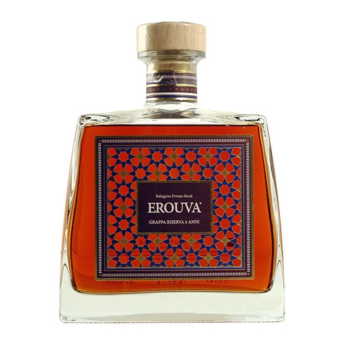 Distillato Grappa EroUva Riserva 5 anni Private Stock Pellegrini