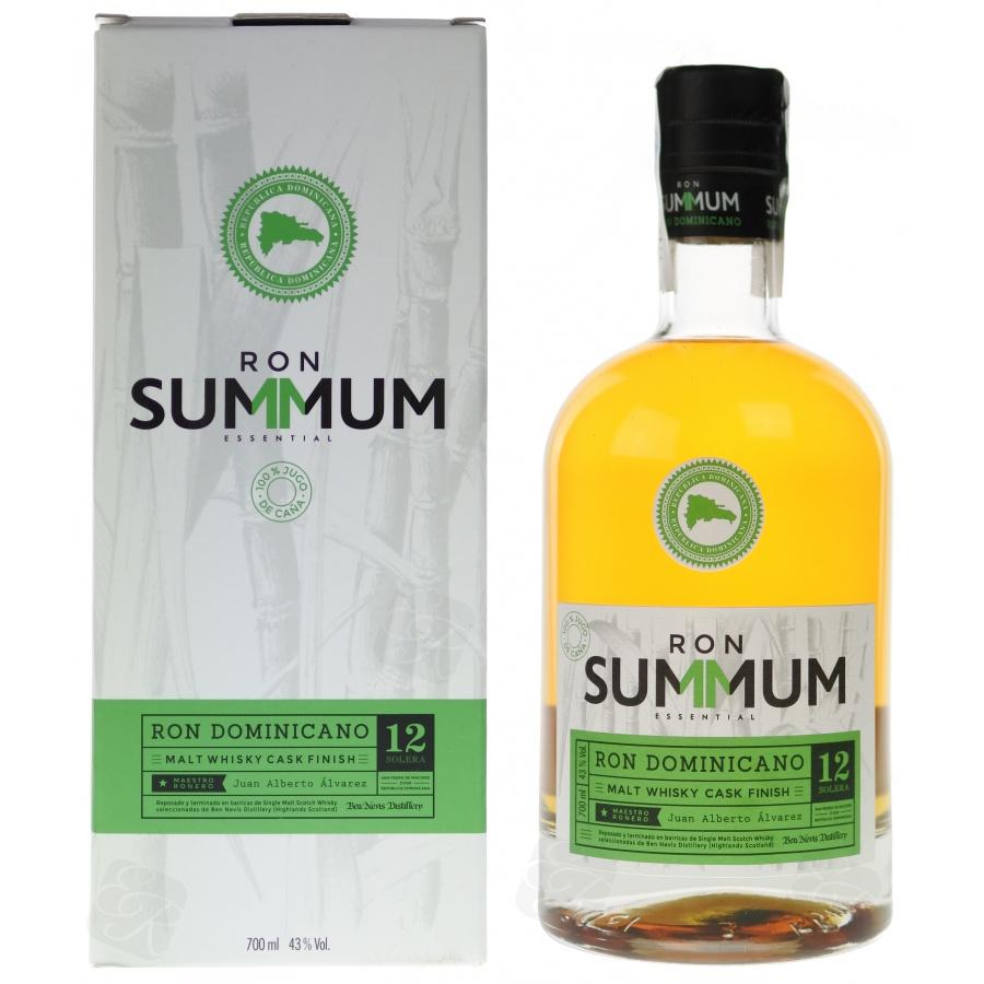 Confezione regalo Rum Malt Whisky Finish 12 anni Solera Summum