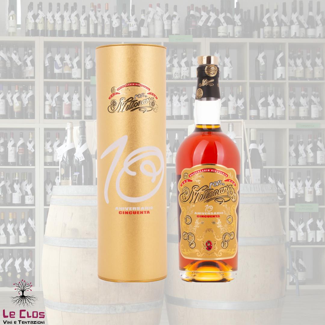 Distillato Rum 10' Anniversario Cinquenta Millonario