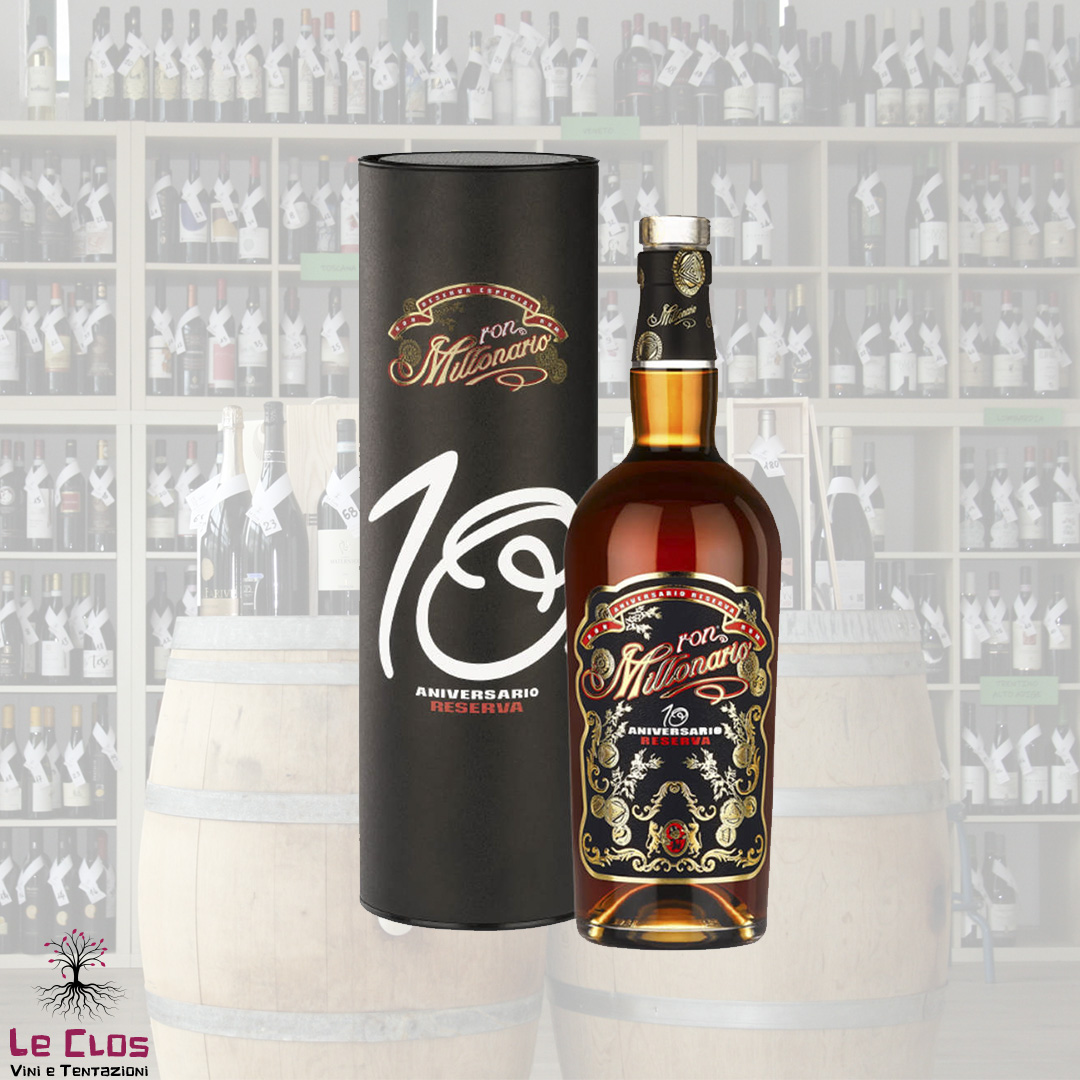 Distillato Rum 10' Anniversario Riserva Millonario