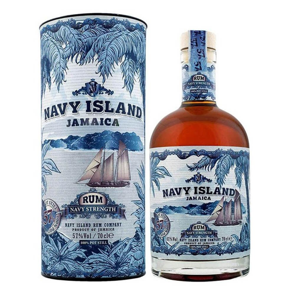 Confezione regalo Jamaica Rum Navy Strenght Navy Island