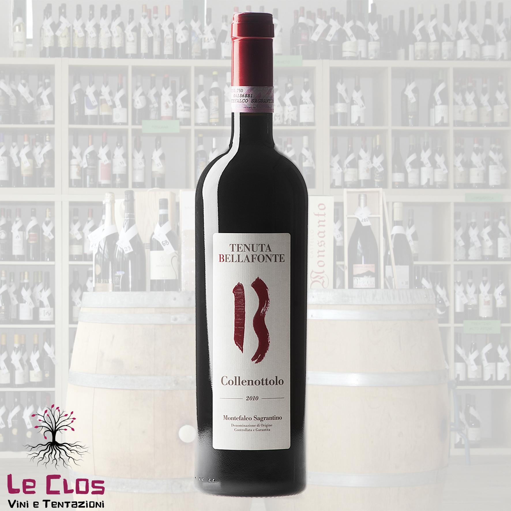 Vino rosso Collenottolo - Montefalco Sagrantino