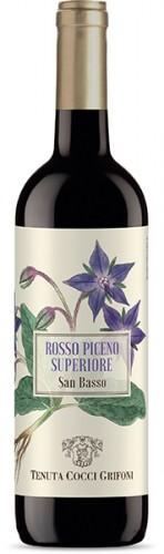 Vino rosso San Basso Rosso Piceno Superiore