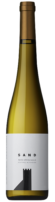 Vino bianco Moscato Giallo Sand