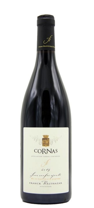 Vino rosso Cornas Sans Soufre Ajoute