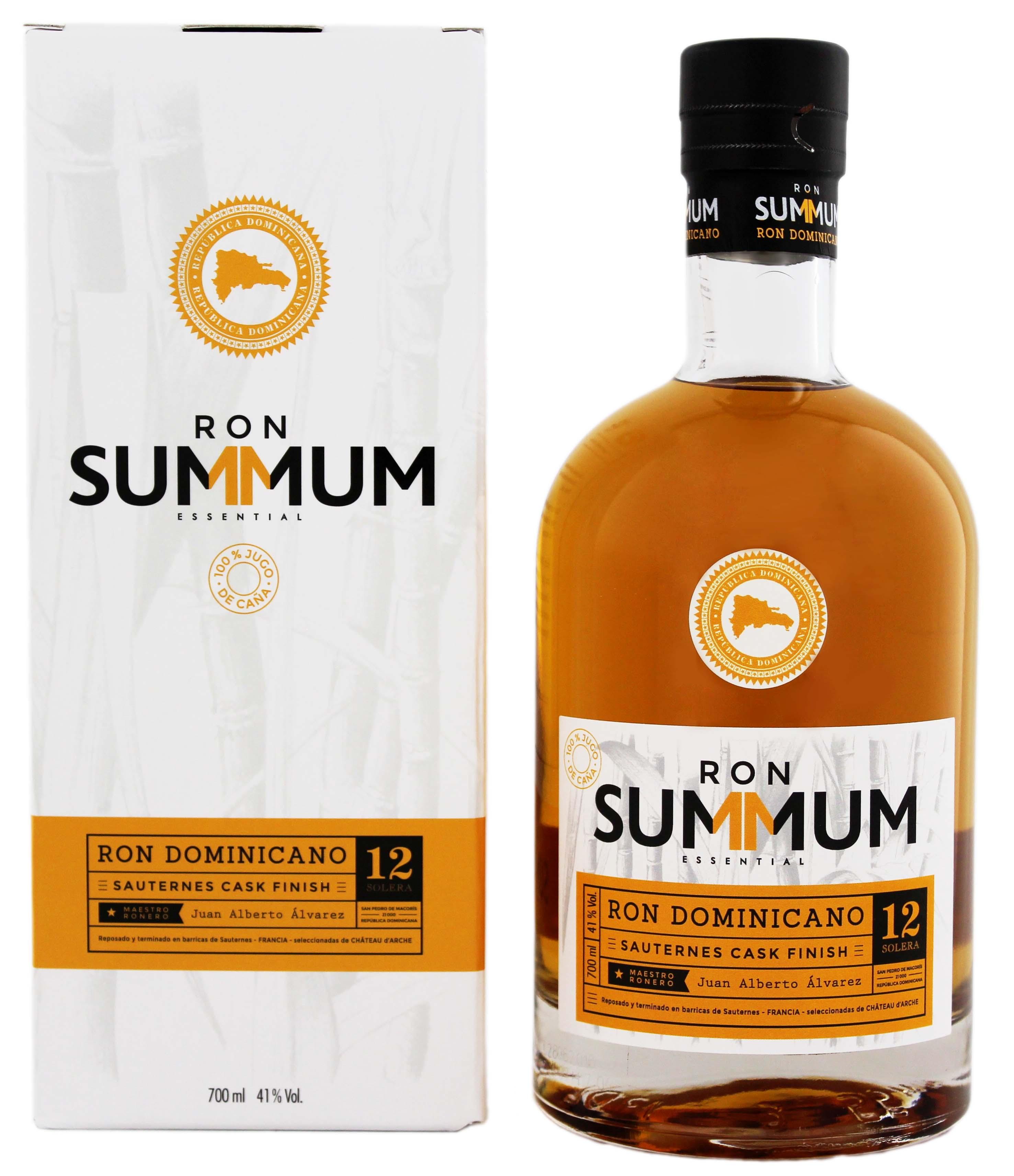 Confezione regalo Rum Sauternes Finish 12 anni Solera Summum