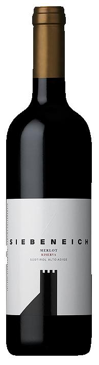 Vino rosso Merlot Riserva Siebeneich