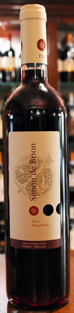Vino rosso Canaiolo Simon De Brion