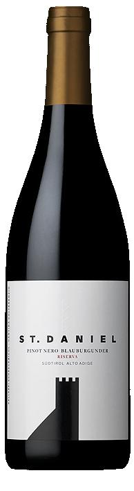 Vino rosso Pinot Nero St. Daniel Riserva