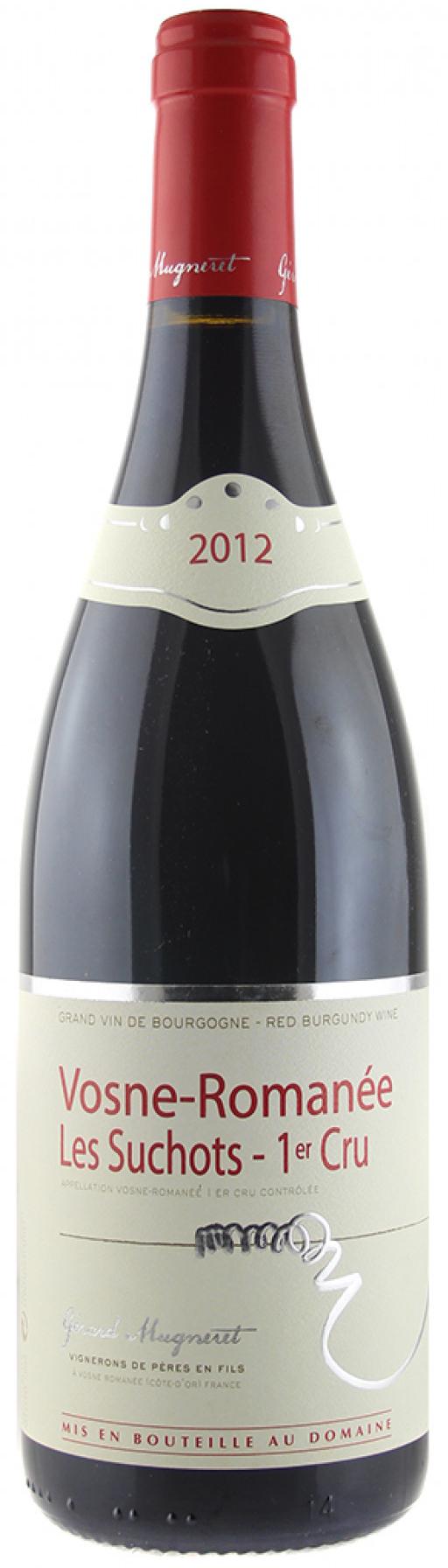 Vino rosso Vosne Romanée 1er Cru Les Suchots