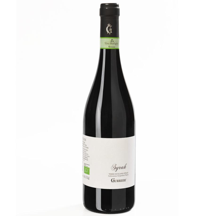 Vino rosso Syrah Sicilia