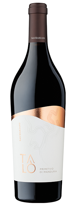 Vino rosso Talò Primitivo di Manduria