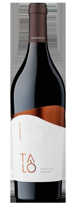 Vino rosso Talò Primitivo Merlot Salento