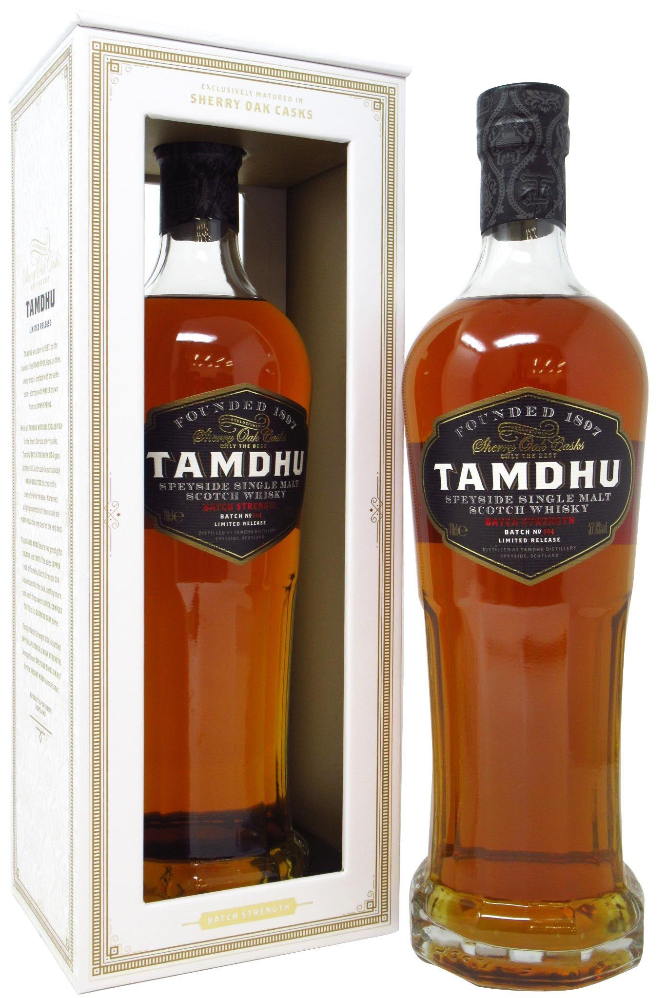 Distillato Whisky Batch Strenght Tamdhu