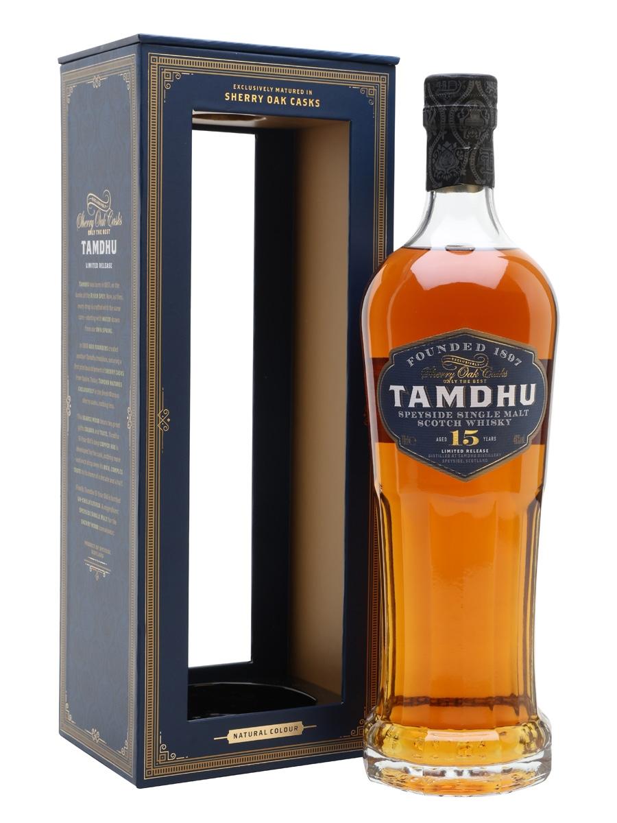 Distillato Whisky 15 anni Speyside Single Malt Tamdhu