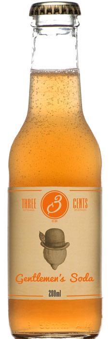 Distillato Gentlemen's Soda   Three Cents