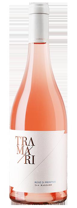 Vino rosato Tramari Rosé di Primitivo Salento