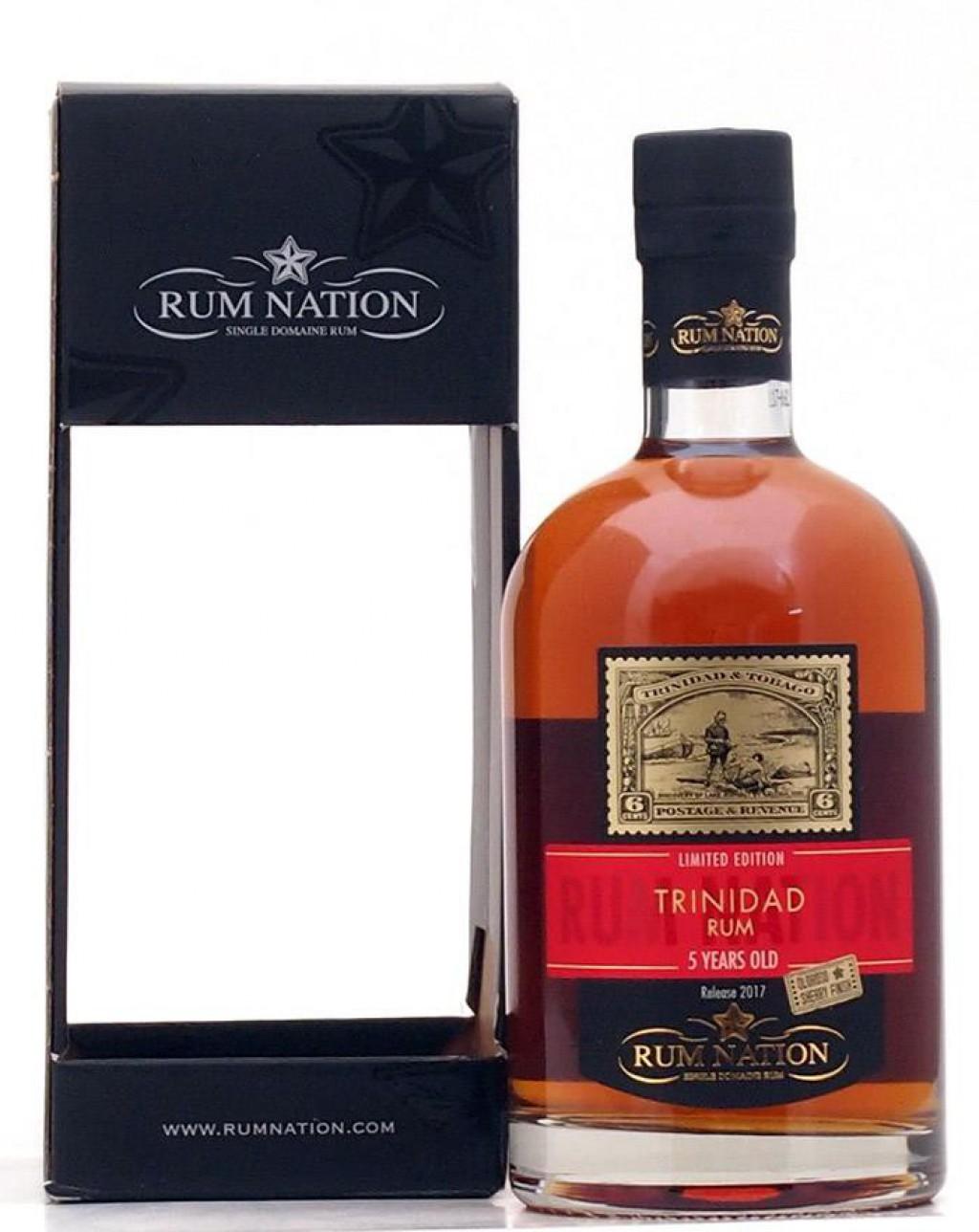 Distillato Rum Trinidad 5 YO Nation