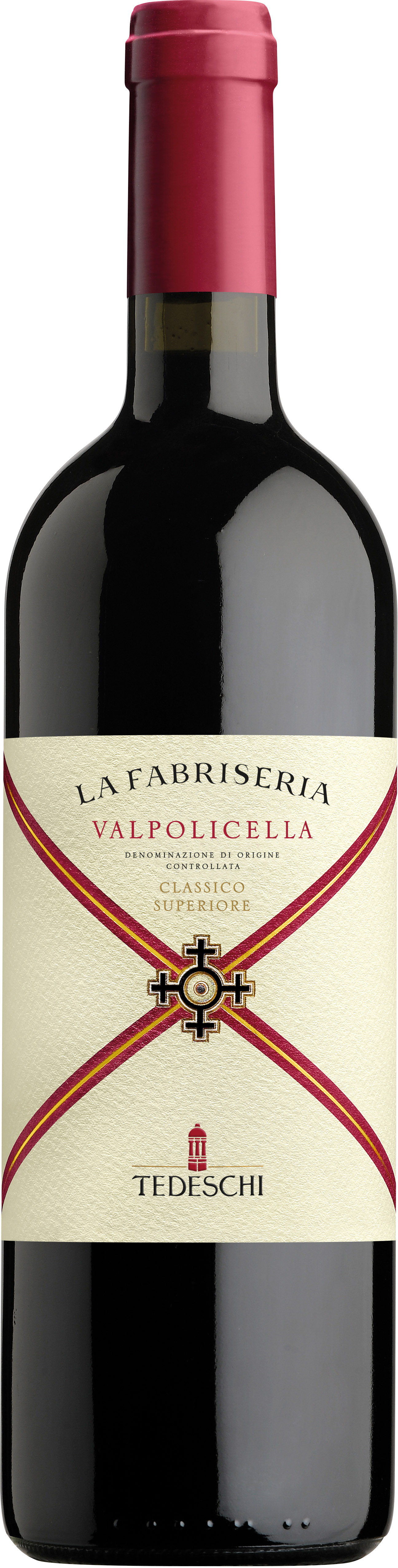 Vino rosso Valpolicella Classico Superiore La Fabriseria