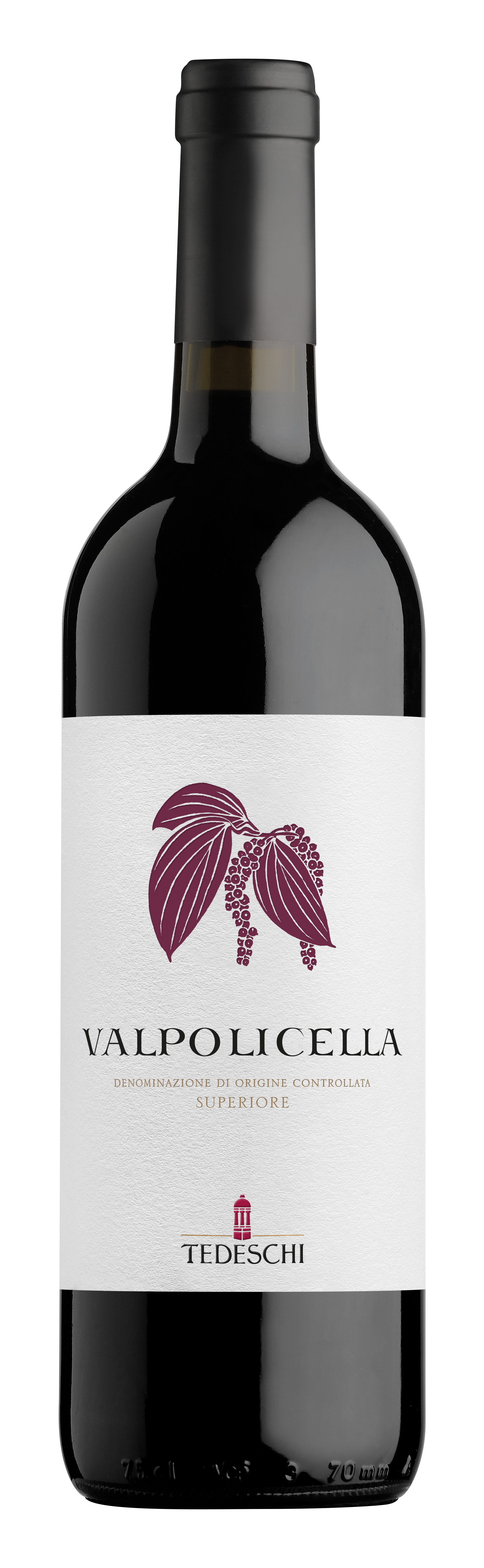 Vino rosso Valpolicella Sup.