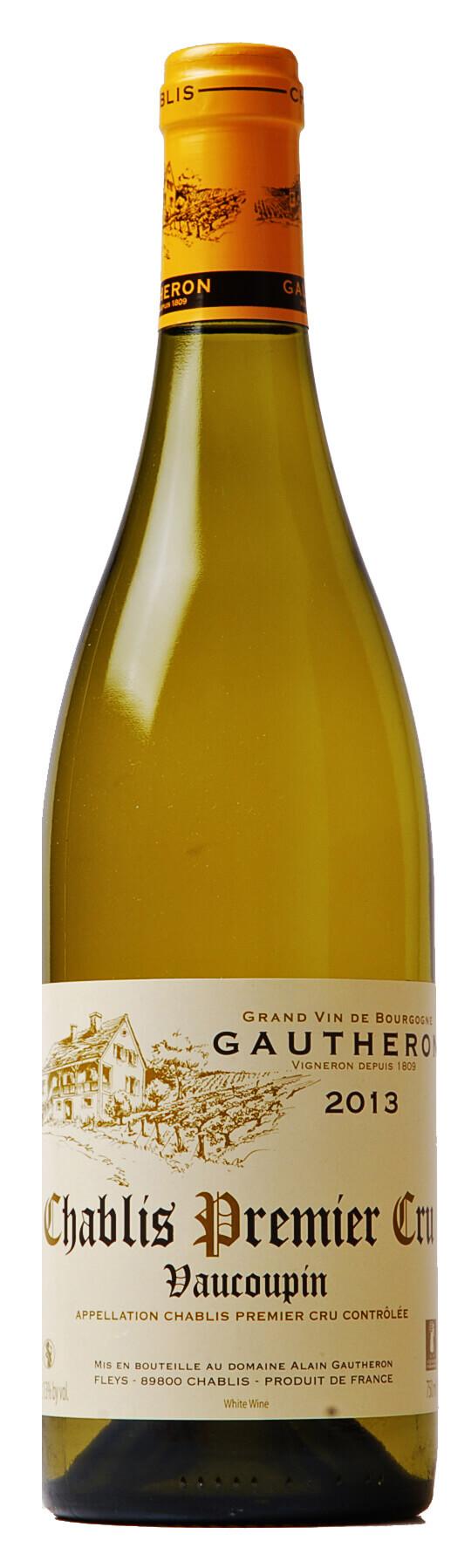 Vino bianco Chablis Premier Cru Vaucoupin