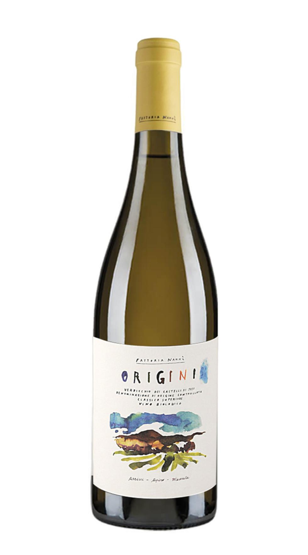 Vino bianco Origini Verdicchio dei Castelli di Jesi Classico Superiore