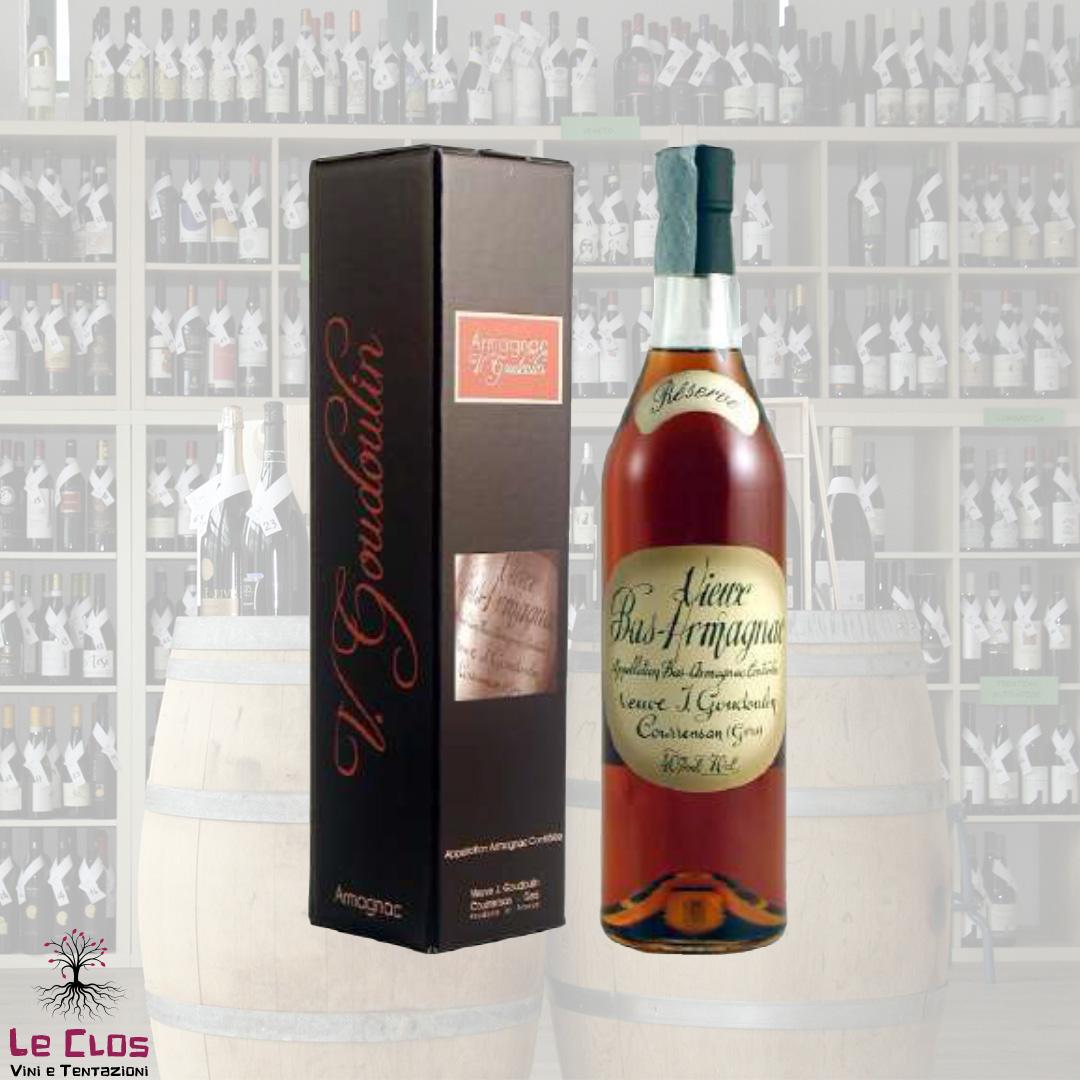 Distillato Bas Armagnac Rèserve Veuve Gougoulin