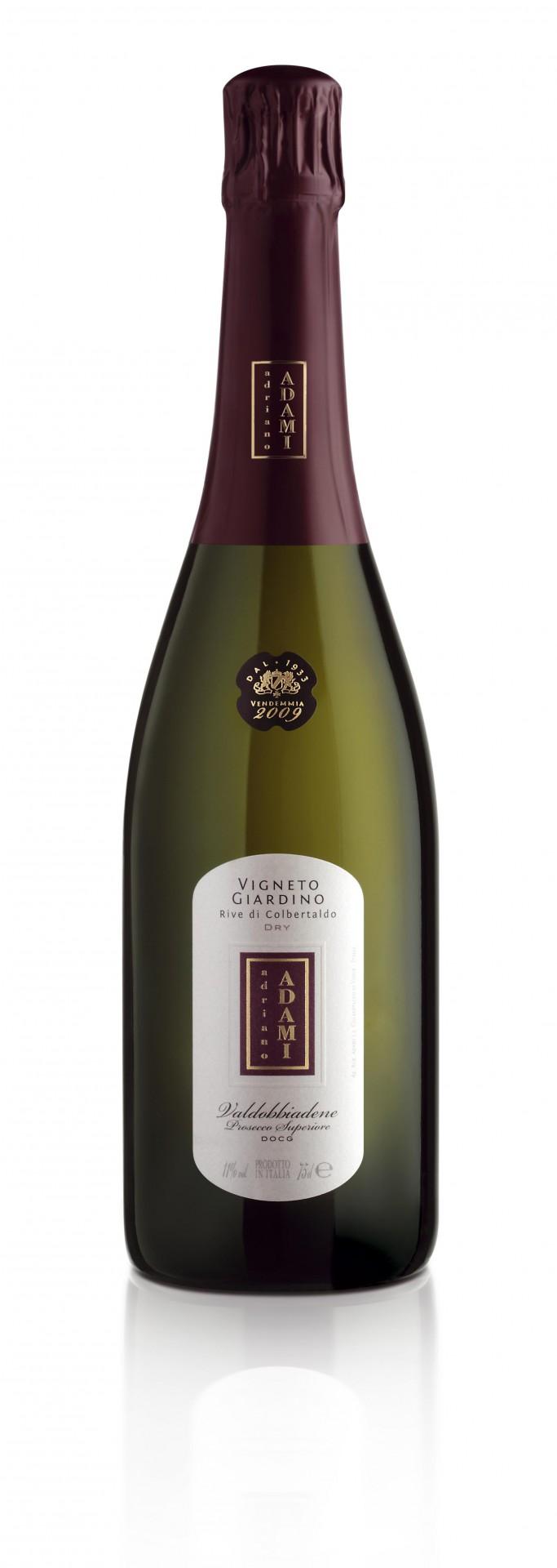 Vino rosso Vigneto Giardino Asciutto Valdobbiadene Prosecco Superiore Rive di Colbertaldo