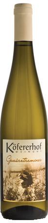 Vino bianco Alto Adige Valle Isarco Gewurztraminer