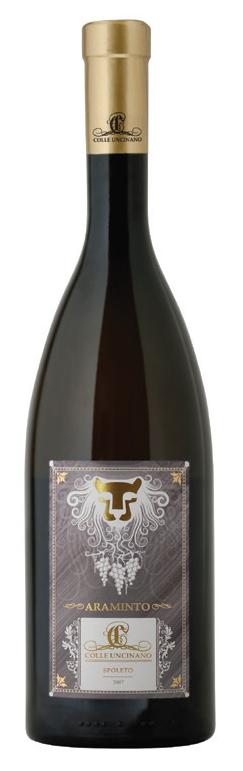 Vino bianco Araminto Gold Grechetto dell'Umbria
