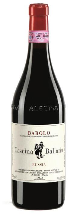 Vino rosso Barolo Bussia 2015