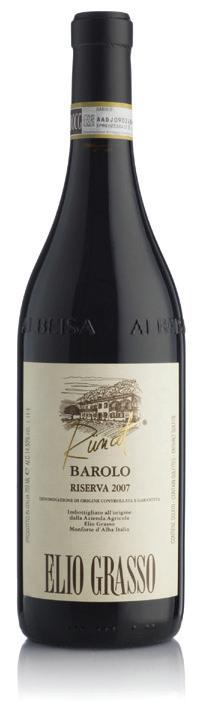 Vino rosso Barolo Runcot Riserva