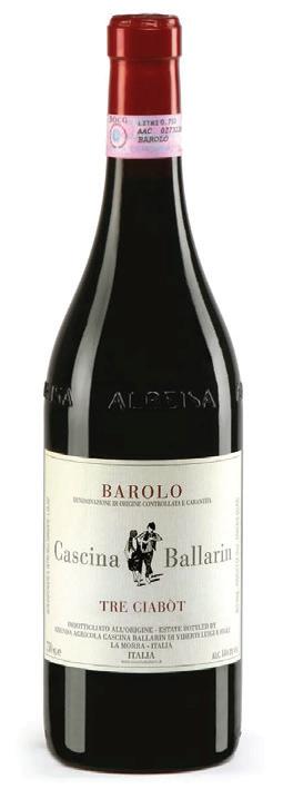 Vino rosso Barolo Tre Ciabòt