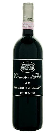 Vino rosso Brunello di Montalcino Cerretalto