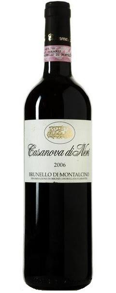 Vino rosso Brunello di Montalcino