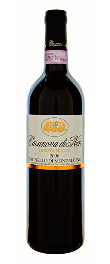 Vino rosso Brunello di Montalcino Tenuta Nuova
