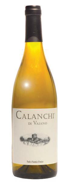 Vino bianco Calanchi di Vaiano